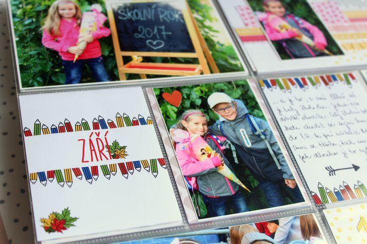 Podzimní kartičky Nemravka v Project Life deníku :-)