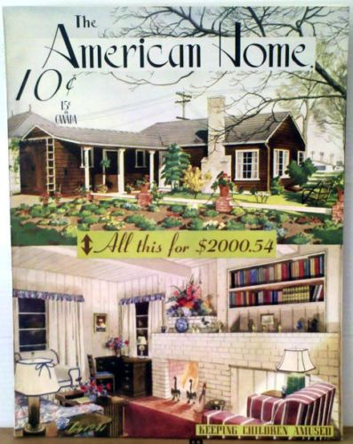 July 1941 The American Home Magazine Children A Seattle Home Gardens