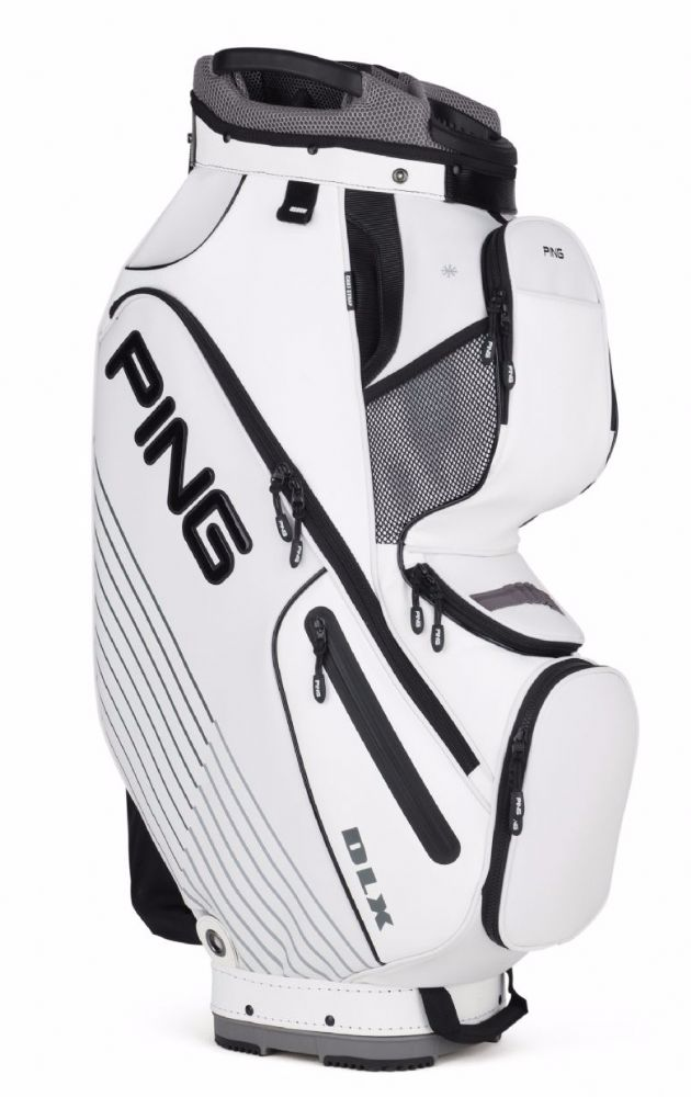Ping Golf DLX Cart Golf Bag The PING DLX Bag Draws Inspiration From the Tour