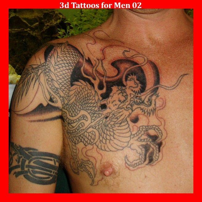3d Tattoos for Men 02