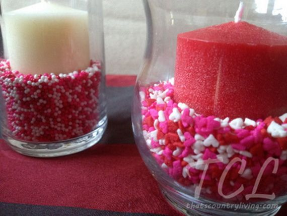Amazing Amp Easy Homemade Valentines Day Centerpieces