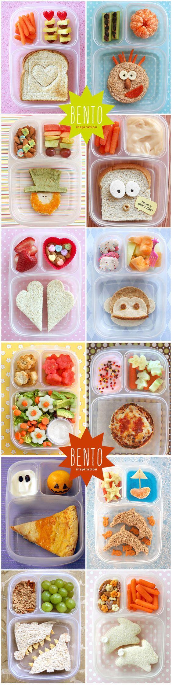 #bento inspiration happy school lunches! bento