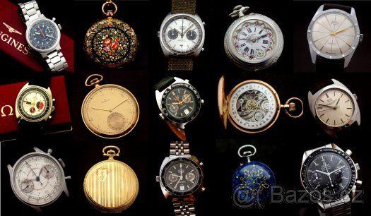 Koupím staré náramkové a kapesní hodinky Prim IWC Omega GUB - 1