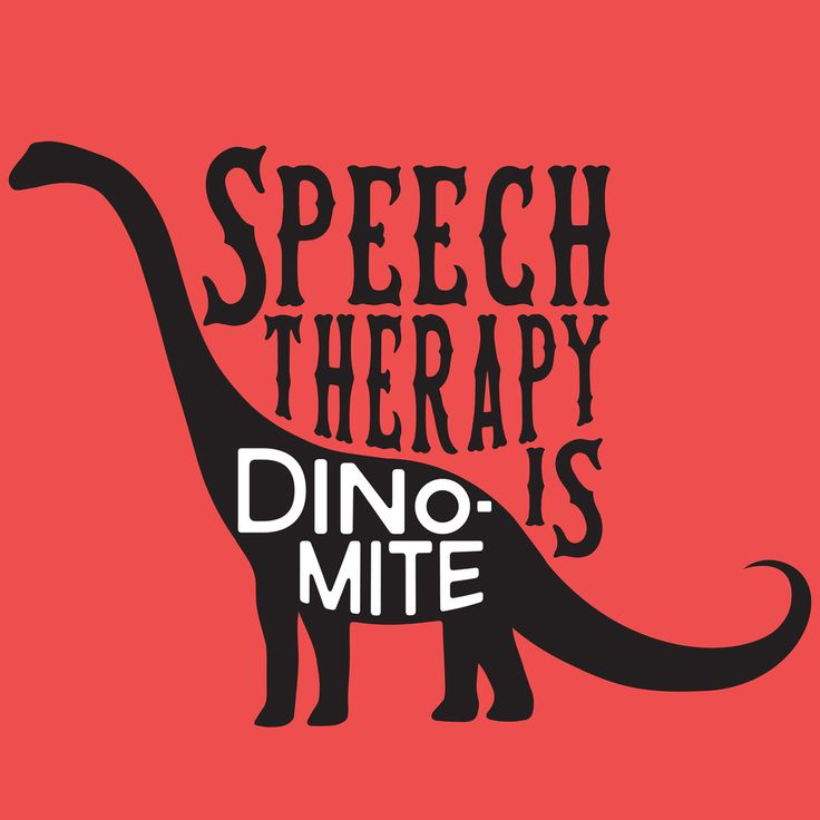 Speech therapy is dino-mite!