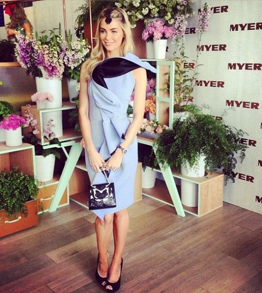 Melbourne Cup Fashion 2012 Mamamia - Jennifer Hawkins