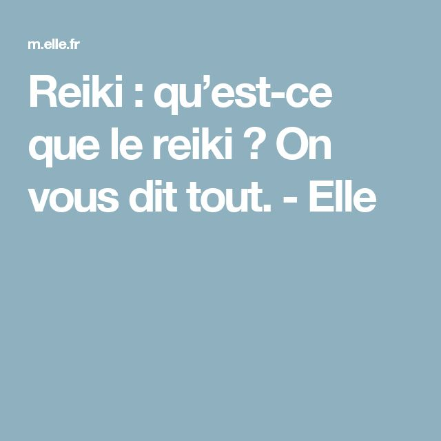 Reiki - Reiki : qu'est-ce que le reiki ? On vous dit tout. - Elle - Amazing Secret Discovered by Middle-Aged Construction Worker Releases Healing Energy Through The Palm of His Hands... Cures Diseases and Ailments Just By Touching Them... And Even Heals People Over Vast Distances...