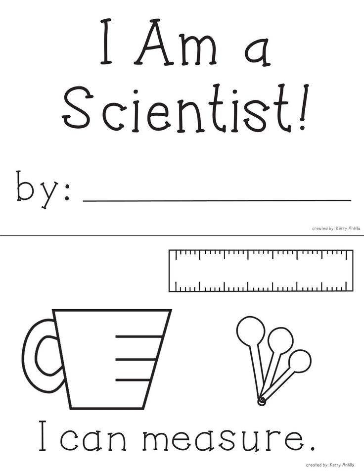 *FREE* I Am a Scientist mini-book- Perfect for introducing science expectations at the beginning of the year!