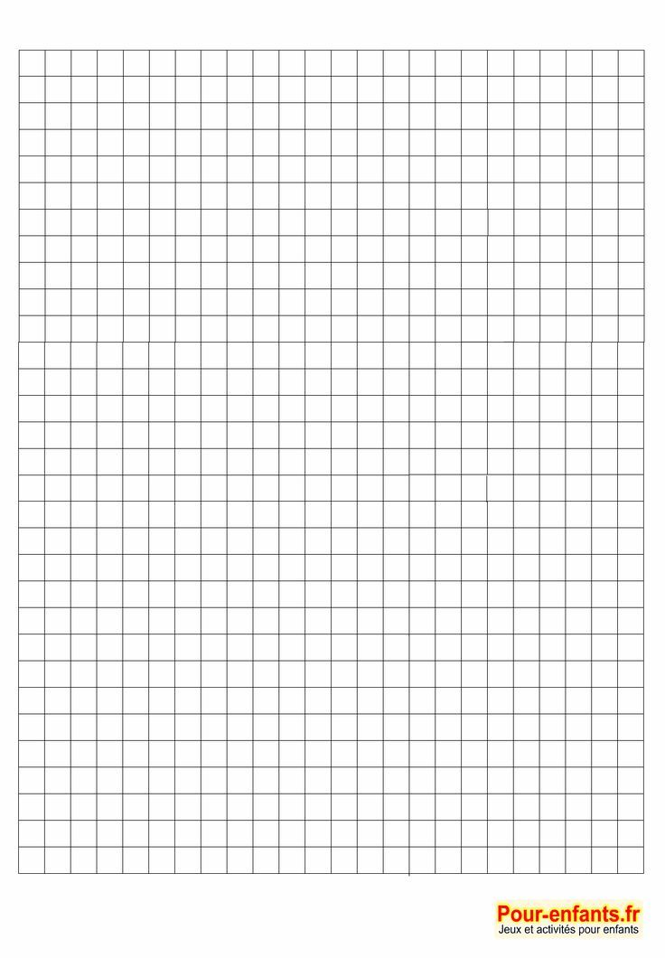 Print Blank Squared Leaves To Make Grid Drawing Blank
