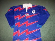 1998 1999 Stade Francais L/s Rugby Union Shirt Adults Medium Paris France