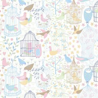The Engla fabric comes with a beautiful design that fits perfectly in the nursery as a pillow, bedding or as curtains. Choose between pink and green!