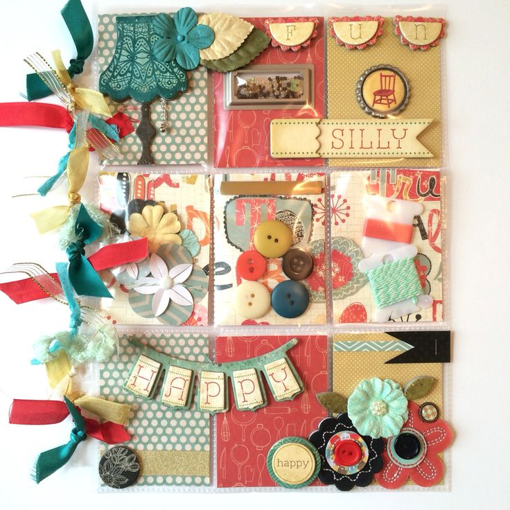 Retro Pocket Letter by Jackie Benedict ~ Loving the colors in this Pocket Letter. The rich yellows, rust and teals...