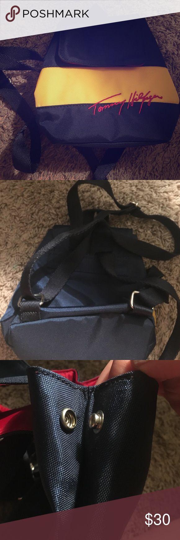 Spotted while shopping on Poshmark: Mini Tommy Hilfiger backpack! #poshmark #fashion #shopping #style #Tommy Hilfiger #Handbags