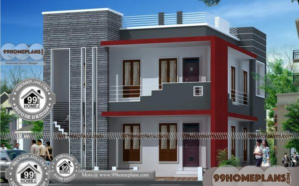 Design House Online Free Modern Double Storey House Plans Collection Small House Elevation Design House Design House Plans