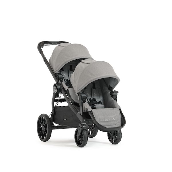 Baby Jogger City Select Lux Double in Slate - The Lightest Double Stroller With the Most Configurations on the Market!