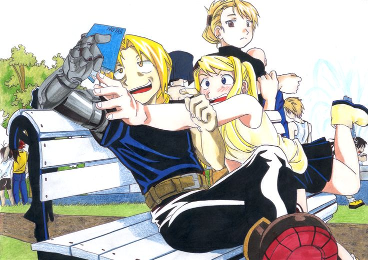Ness Wolfess uploaded this image to 'Fullmetal Alchemist'.  See the album on Photobucket.