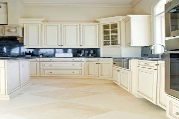Best Stone for Kitchen Floors | Best Flooring for Kitchen White Series