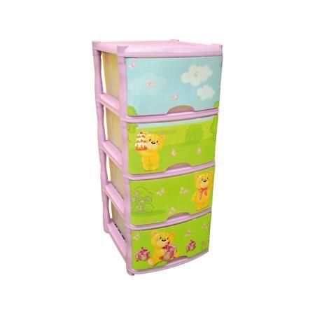 Little Angel Комод для детской комнаты Bears Tutti 4 ящика, Little Angel, лавандовый  — 2570р.  Комод для детской комнаты Bears Tutti 4 ящика, Little Angel, лавандовый ‒ это детская мебель от отечественного производителя . Комод изготовлен из экологически безопасного материала ‒ полипропилена, который обеспечивает легкость конструкции, прочность, устойчивость к физическим и химическим воздействиям. Окраска комода обладает высокой устойчивостью цвета к внешним воздействиям. Комод для детской…