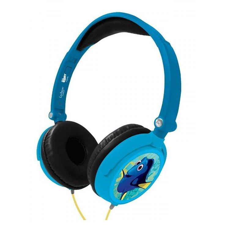 These cool Finding Dory Stereo Headphones allow your little music lover to listen to their favourite songs whenever they like without disturbing anyone and the pretty Pixar graphics featuring Dory and Nemo are sure to delight any fan!