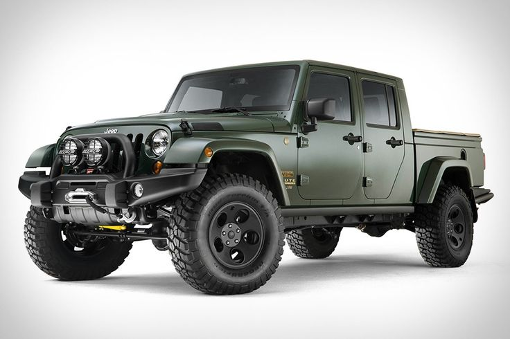 """File under """"Awesome:"""" Filson x AEV Brute Double Cab Jeep"""