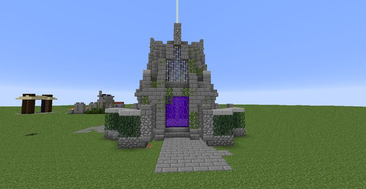 cool nether portal rooms - Google Search