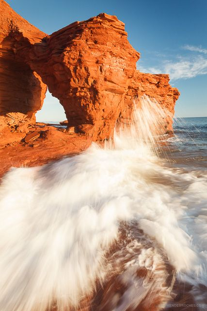 Thundercove Beach, Prince Edward Island - © Stephen DesRoches. Can you tell that Stephen is one of my favourite photographers :)