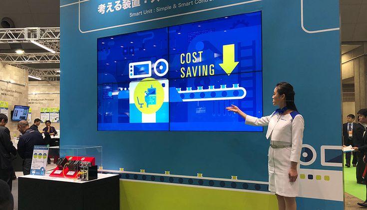 東京国際展示場で行われた SCF2017 / 計測展2017 TOKYOパナソニックイベント会場ブースの映像ディレクション/モーショングラフィックス/ムービングイメージ/編集をLIGHT THE WAY Inc.が担当致しました。