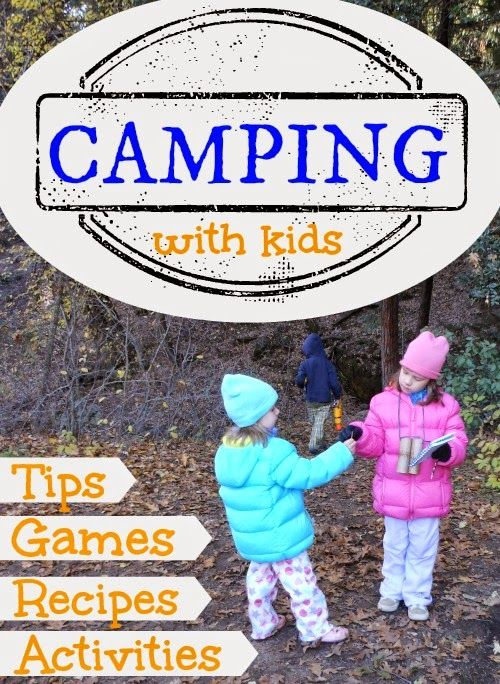 Some of the Best Things in Life are Mistakes: Free Camping Printables for Fun With the Kids