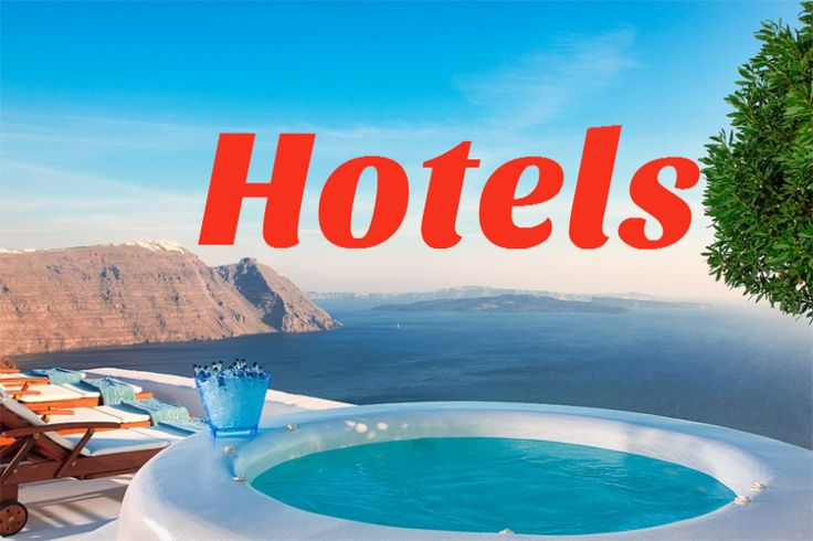 The best Caldera and sea view Hotels of Santorini
