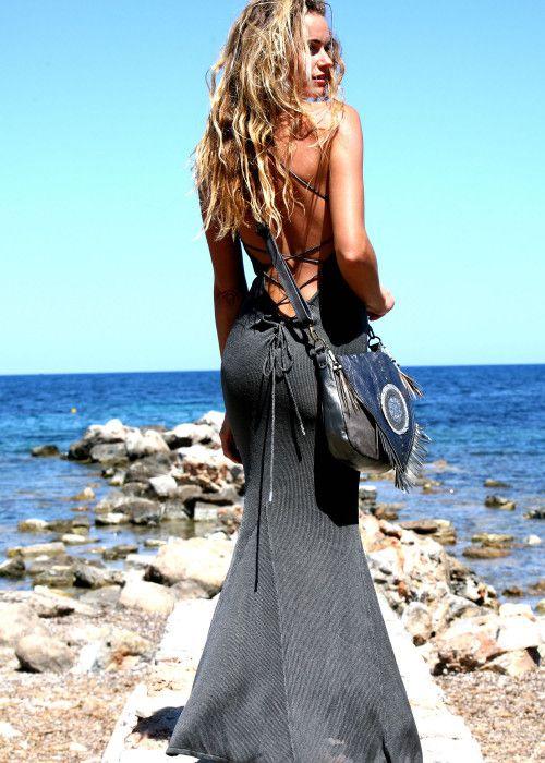 e1aa5fd9787276 SC Fashion Maxikleid V-Neck Lace schwarz online kaufen ✓ mehr stylische Mode  jetzt bestellen