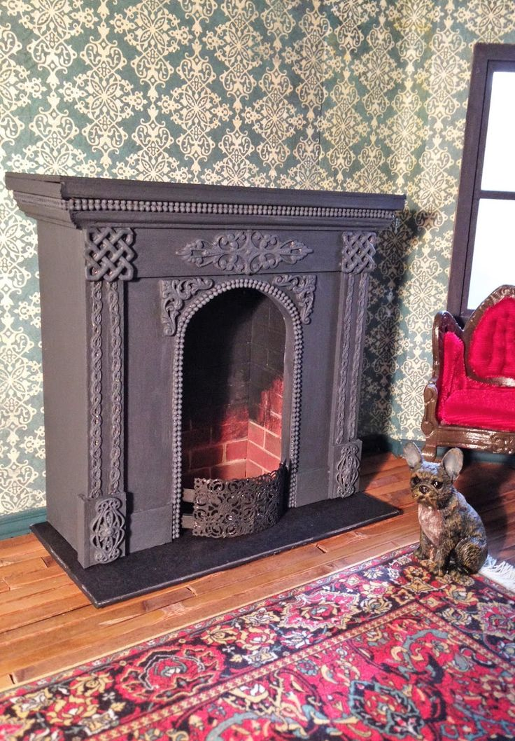 17 Best Images About Miniature Fireplaces And Stoves On