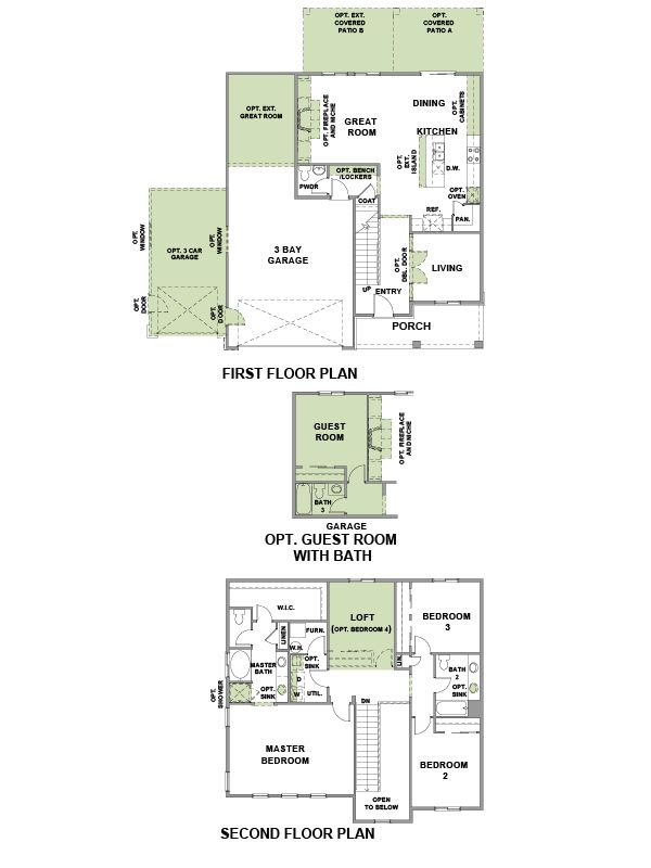 Woodside Homes Floor Plans 59 best home floor plans images on pinterest | small house plans