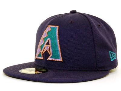 Arizona Diamondbacks New Era 59Fifty MLB Cooperstown Hats