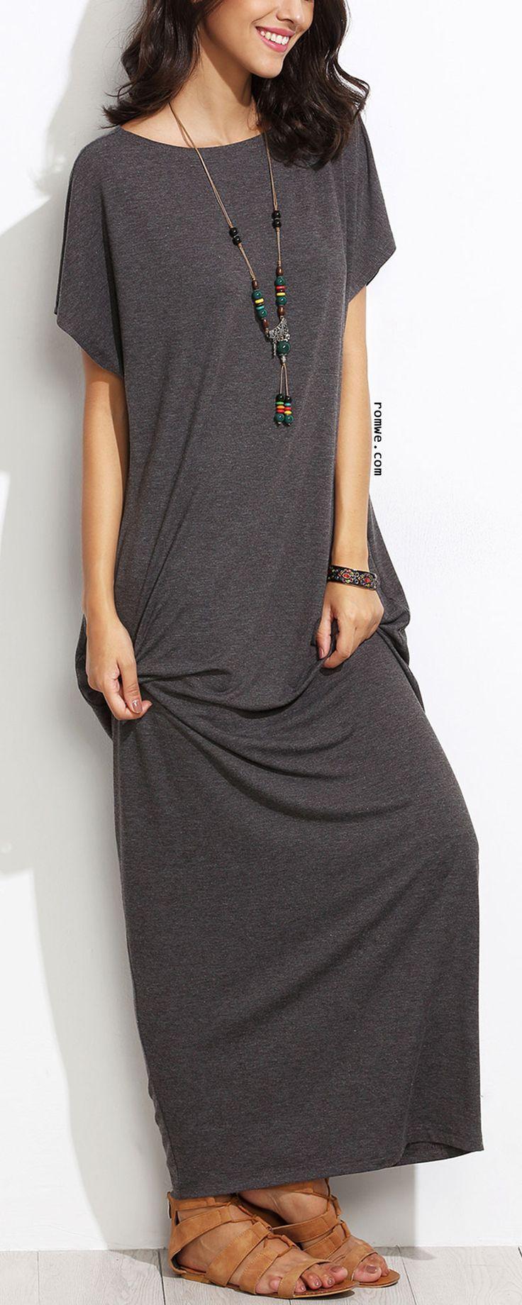 T shirt maxi dress petite xs