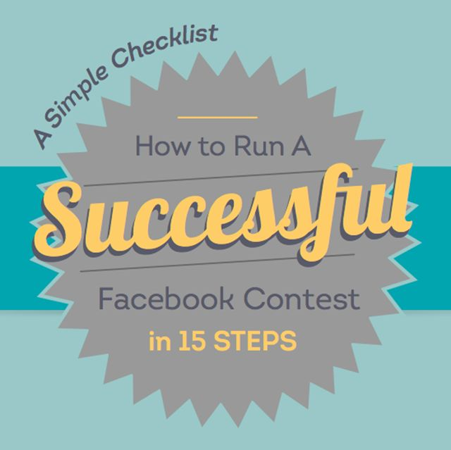 How to Run a Successful Facebook Contest [CHECKLIST