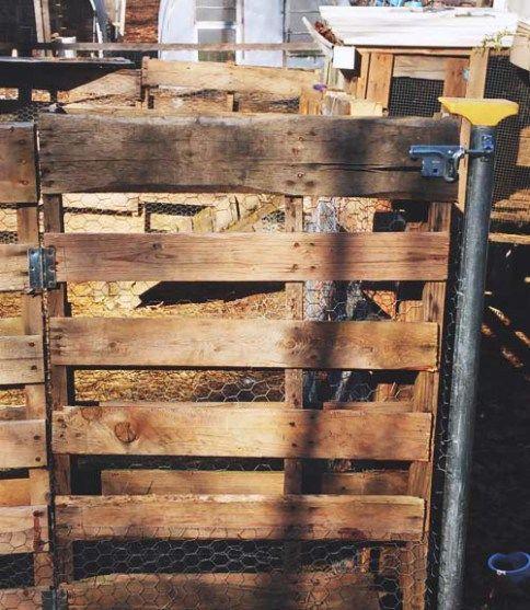17 Best Ideas About Pallet Fence On Pinterest Wood