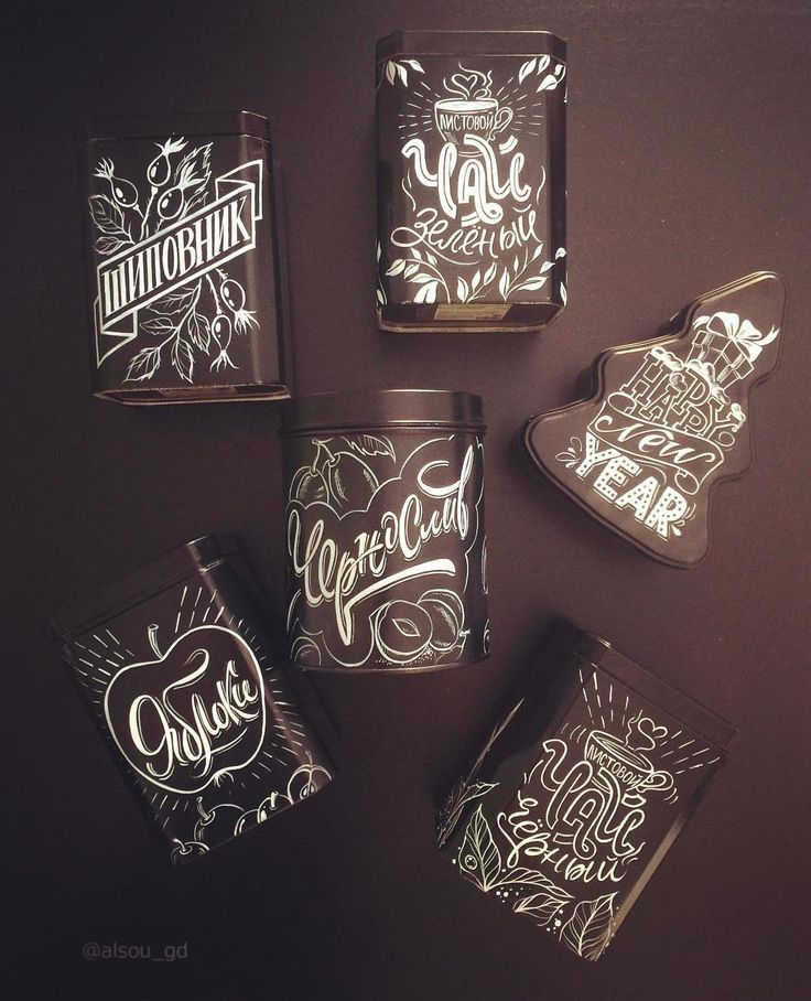 Hand painted on the boxes. Boxes for tea. Проект для постоянного заказчика кофейни Бостон.