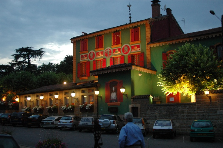 Restaurant Paul Bocuse in Lyon France..... oh so delicious!!