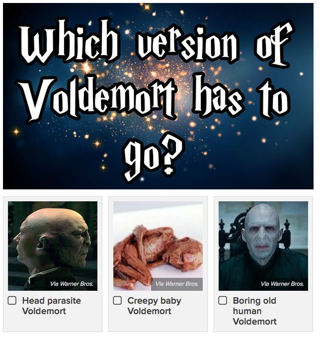 """<a href=""""https://www.buzzfeed.com/erinchack/which-of-these-harry-potter-things-has-to-go?utm_term=.aege2LZ05#.pyb3A6Mbg"""">Which Of These Harry Potter Things Has To Go?</a>"""