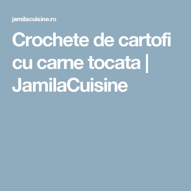 Crochete de cartofi cu carne tocata   JamilaCuisine