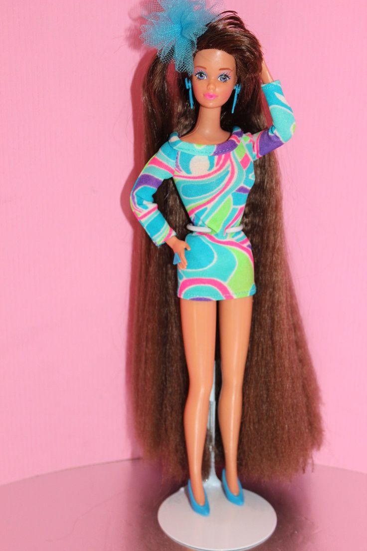 Superstar Barbie Totally Hair Whitney Steffie Face Rare
