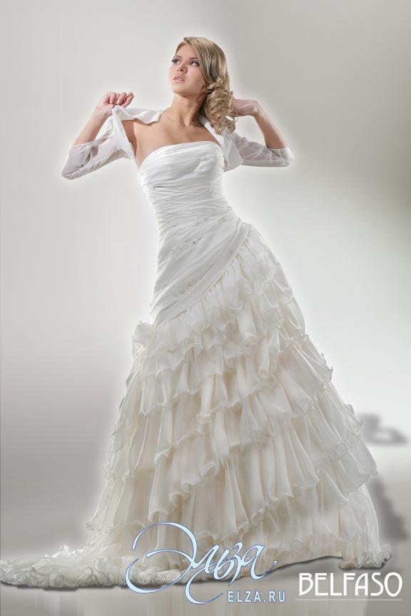 Cвадебное платье Альма: фасон годе (русалка, рыбка, трампет), стиль звибел, длинное платье, с прямым вырезом, с пышной юбкой, со шлейфом, модель до 2016 года, без рукавов, платье, в ограниченном количестве