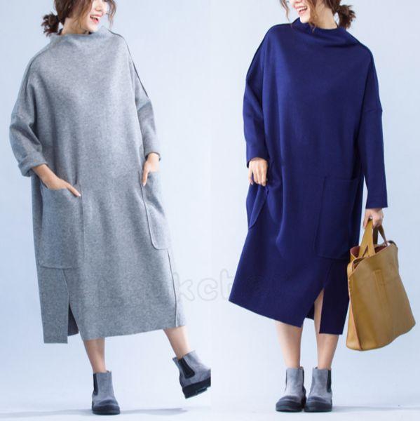 Maxikleider - Frauen Lose Große Größe Maxi Kleid - ein Designerstück von LtukChar bei DaWanda