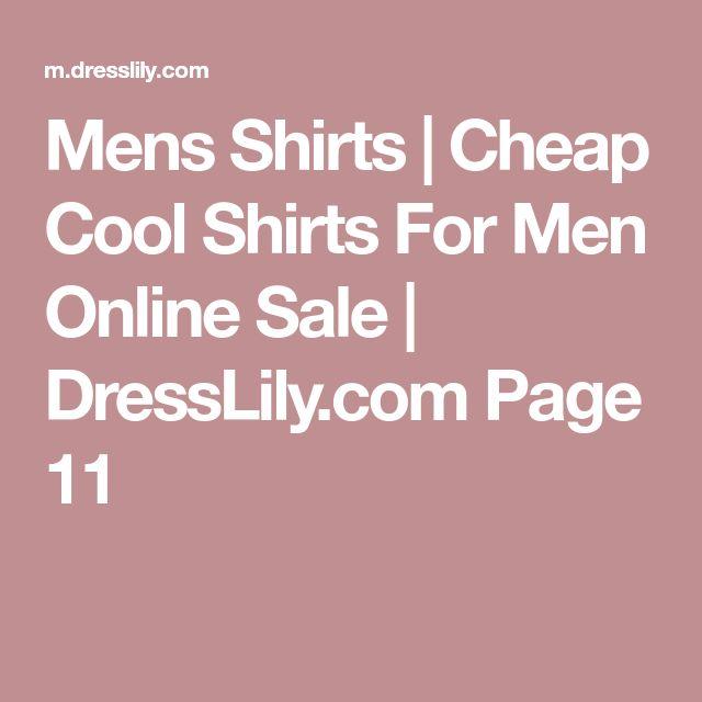 Mens Shirts | Cheap Cool Shirts For Men Online Sale | DressLily.com Page 11