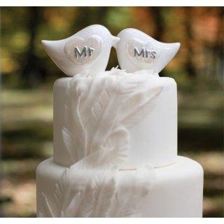 67 best love bird wedding theme images on pinterest love birds porcelain love birds wedding cake topper daisydays wedding lovebird dove junglespirit Choice Image