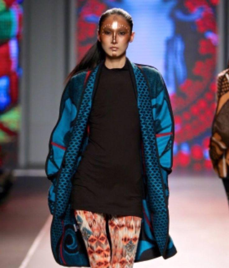 Basotho blanket inspired coat  www.weissdesignstudio.co.za