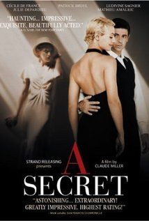 A Secret......French production of a Jewish family struggling to survive occupation.