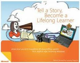 digital story telling ... This section provides resources and materials for teachers to use with their students in storytelling. It helps students personalize their learning and  perfom better. Students can use these materails to create a movie or interactive slideshow to tell their stories.