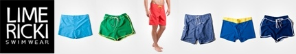 Men's Swimwear Giveaway from Lime Ricki!