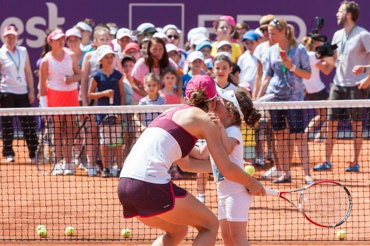 Simona Halep @ Bucharest Open 2014