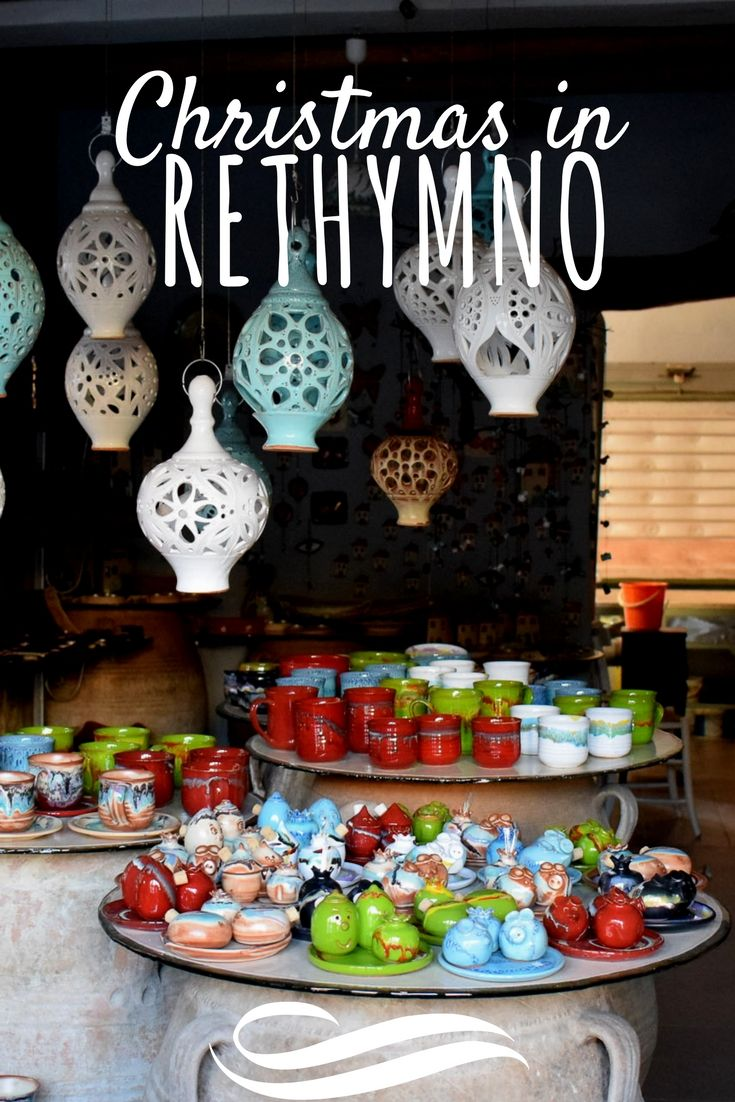 The Non-Traditional Guide for Christmas in Crete: Rethymno. if you don't enjoy cold weather why not Crete for a Christmas break? Why not Rethymno this time?